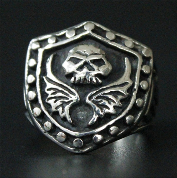 The Shield & Skull - Ring