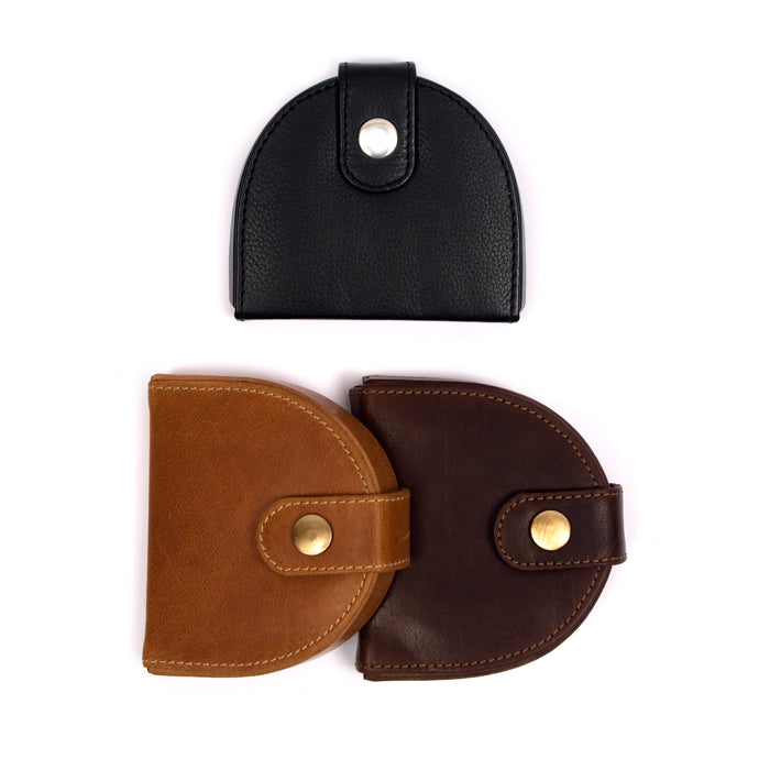Horseshoe Leather Coin Purse