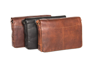 'Ottawa' - Soft Leather Satchel