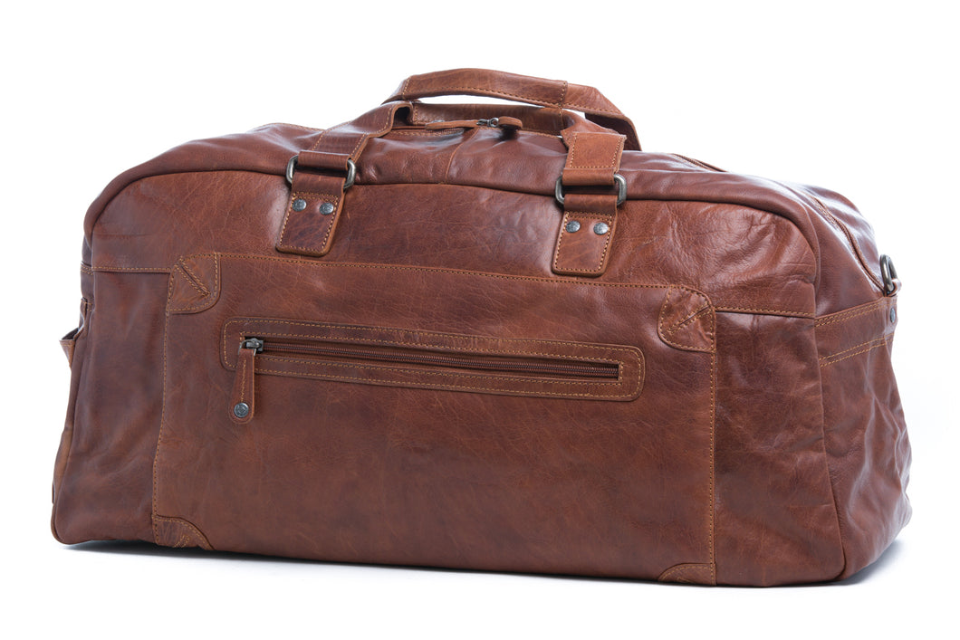 Luxurious Leather Travel / Overnight Bag