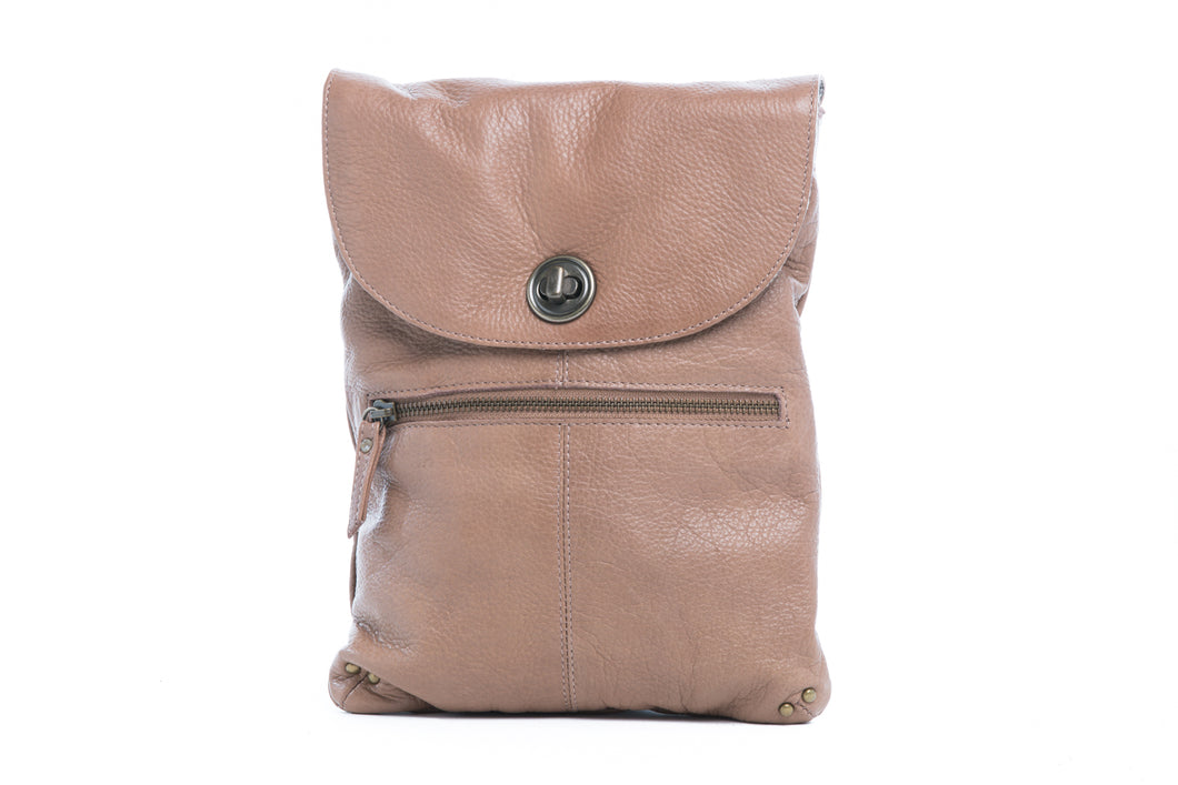 'Tayla' - Soft Leather Slimline Sling Bag
