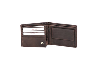 'Dave' - Mens Leather Wallet