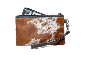 'Doreen' - Hide Clutch
