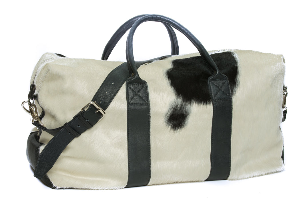 'Rodeo' - Hide Leather Travel / Duffle Bag