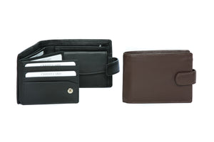 'Con' - Mens Leather Wallet