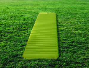 Front of the inflated Sleeping Pad