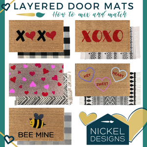 New Year - New Fresh Doormats for a great porch!