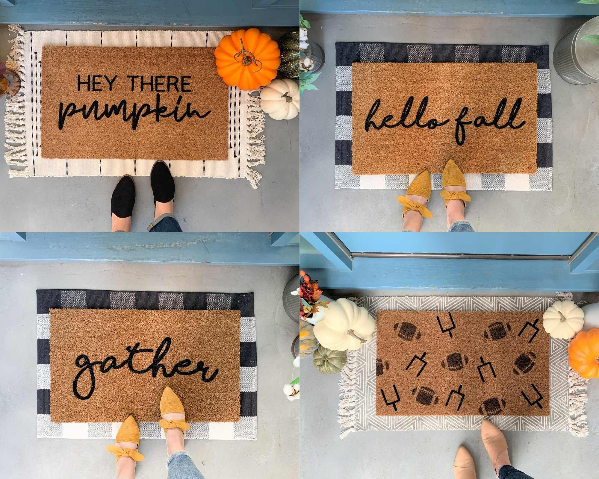 Easy Fall Porch Decor Tips 🍁