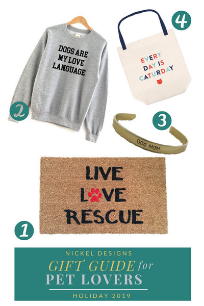 TOP GIFTS FOR THE PET LOVER IN YOUR LIFE