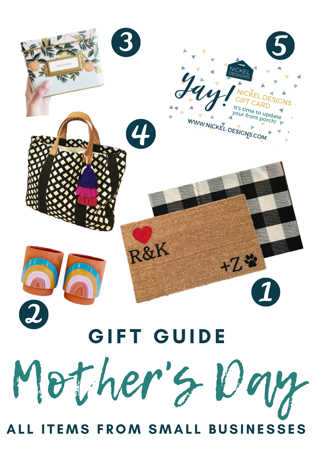 Shop Small! Small Business Mother's Day Gift Guide
