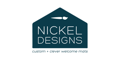 Nickel Designs Custom Doormats