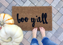 Doormat - Boo Y'all Halloween Doormat