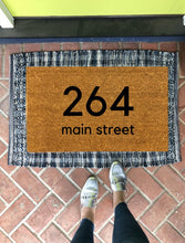 Doormat - Custom Address Doormat