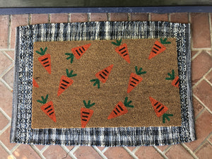 Doormat - Custom Carrot Easter Doormat