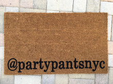 Doormat - Custom HASHTAG Or HANDLE Doormat