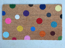 Doormat - Custom Polka Dot Doormat