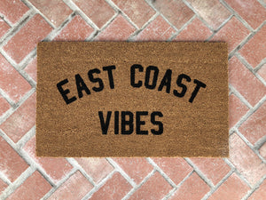 Doormat - East Coast Vibes Custom Doormat