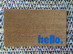 Doormat - Hello. Welcome Mat
