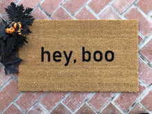 Doormat - Hey, Boo Halloween Doormat