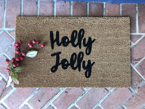 Doormat - Holly Jolly Holiday Doormat