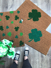 Doormat - Irish Shamrock Lucky Clover Welcome Mat