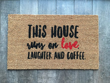 Doormat - Love, Laughter And Coffee Doormat