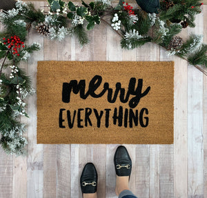 Doormat - Merry Everything Holiday Doormat