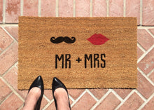 Doormat - Mr. & Mrs. Welcome Mat - Wedding Gift