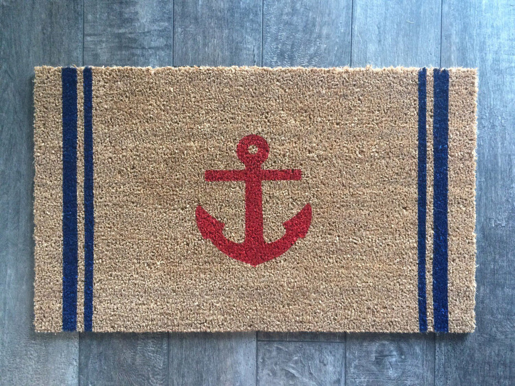 Doormat - Nautical Anchor Doormat