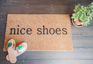 Doormat - Nice Shoes Doormat