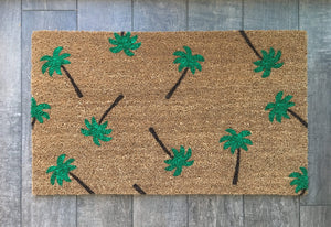 Doormat - Palm Tree Doormat