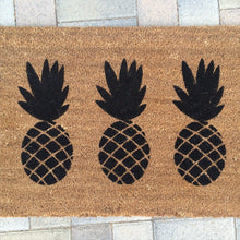 Doormat - Pineapple Trio Doormat