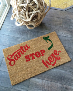 Doormat - Santa Holiday Doormat