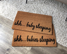 Doormat - Shh...baby Sleeping Outdoor Doormat