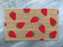 Doormat - Strawberry Pattern Doormat