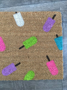 Doormat - Summer Popsicle Doormat