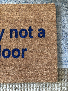Doormat - Trap Door Funny Custom Doormat