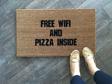 Doormat - WIFI And PIZZA Doormat