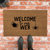 Welcome to our Web Halloween Welcome Mat