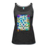 Res-Cue-Dog-Mom - Women's Tank - charcoal gray
