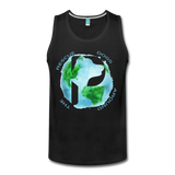 Rescue Dogs Around the World - Men's Tank - black