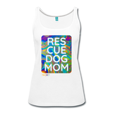 Res-Cue-Dog-Mom - Women's Tank - white
