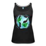 Women's Premium Tank Top - Rescue Dogs Around the World - black