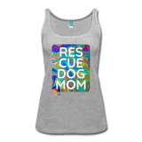 Res-Cue-Dog-Mom - Women's Tank - heather gray