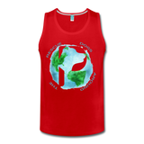 Rescue Dogs Around the World - Men's Tank - red