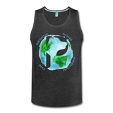 Rescue Dogs Around the World - Men's Tank - charcoal gray