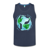 Rescue Dogs Around the World - Men's Tank - navy