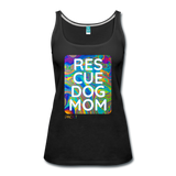 Res-Cue-Dog-Mom - Women's Tank - black