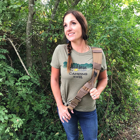 Unisex/ heather olive/ short sleeve