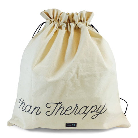 "Edict Project Bag-Large ""Cheaper Than Therapy"""